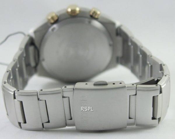 Montre Citizen Eco-Drive Titanium Chronograph CA4024-53W masculine