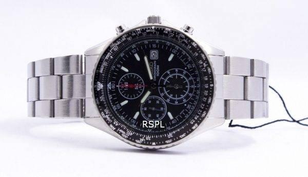 Seiko Flightmaster Slide pilote règle chronographe SND253P1 SND253