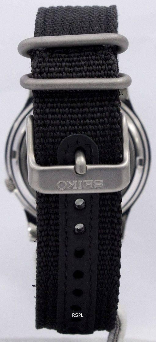 La montre de Seiko 5 militaire automatique Nylon hommes SNK809K2 SNK809