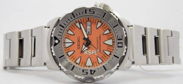 Seiko Japon fait monstre Orange SRP309J Divers SRP309