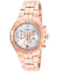 Montre TechnoMarine Pearl mer Collection chronographe TM-715005 féminin