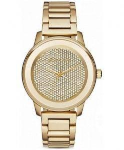 Michael Kors Kinley Quartz Crystal Pave MK6209 Women Watch Dial