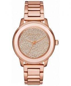Michael Kors Kinley Quartz Crystal Pave MK6210 Women Watch Dial