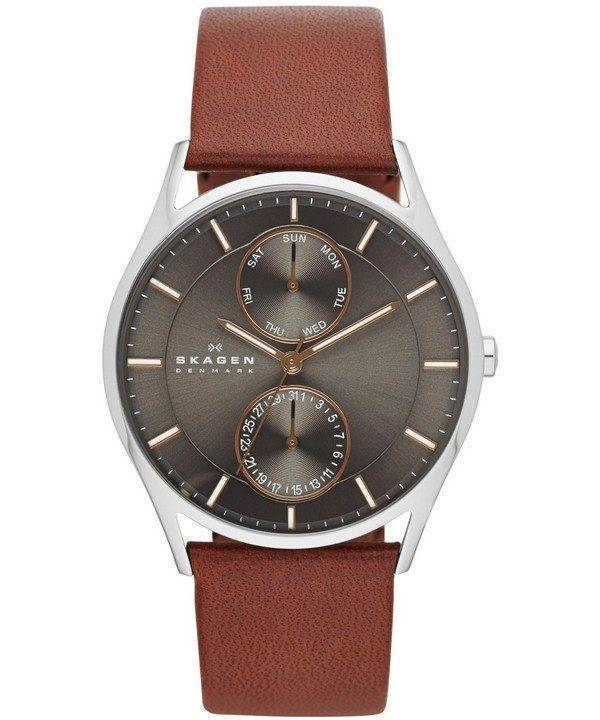 Montre Skagen Holst inox multifonction Quartz SKW6086 masculin