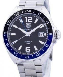 Tag Heuer Formula 1 Calibre automatique 7 GMT Swiss Made WAZ211A. BA0875 Montre homme