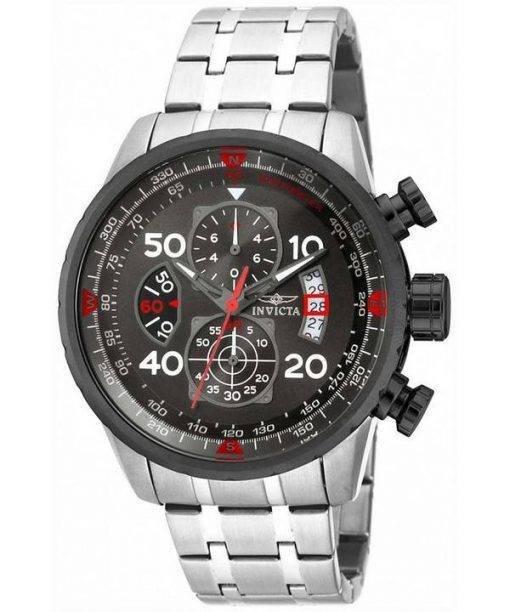Chronographe Invicta Aviator Gunmetal 17204 montre homme