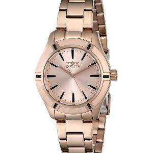 Invicta Pro Diver Quartz Rose or 18031 femmes montre