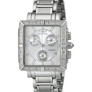 Invicta Wildflower chronographe diamant accentués montre Quartz 5377 féminin