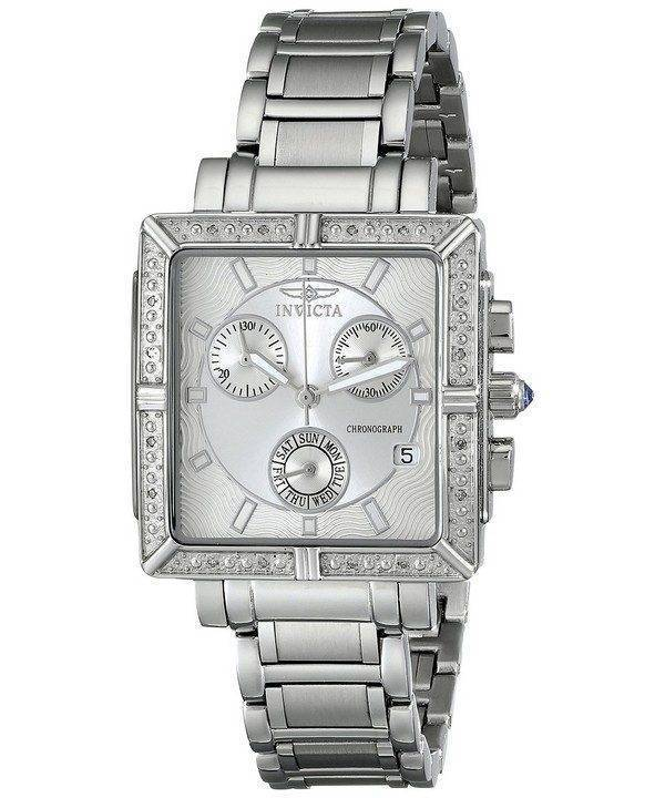 Invicta Wildflower chronographe diamant accentués montre Quartz 5377 féminin