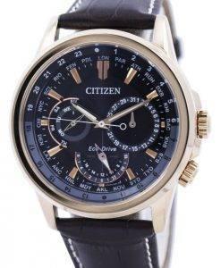 Citizen Eco-Drive Calendrier World Time BU2023-12E montre homme