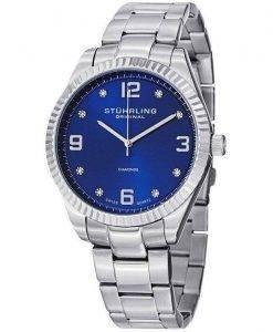 Stührling Original Allure diamants Quartz Suisse 607G.03 montre homme