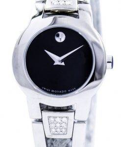 Movado Amorosa Swiss Made montres Quartz diamants 0604982 féminin