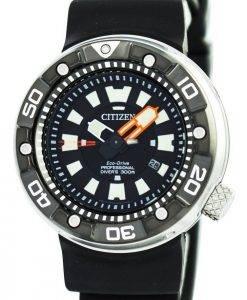 300M DLC Japon Citizen Promaster Eco-Drive Professional Diver faite BN0176-08F montre homme