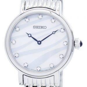 Montre Seiko Quartz cristaux Swarovski SFQ807 SFQ807P1 SFQ807P féminin