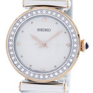 Montre Seiko Quartz 44 cristaux Swarovski SRZ466 SRZ466P1 SRZ466P féminin