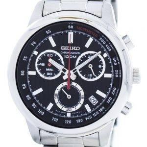 Seiko Sports Chronographe Quartz Tachymètre SSB205 SSB205P1 SSB205P Montre Homme