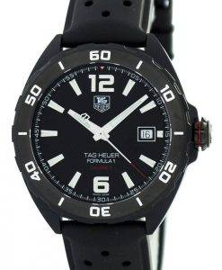 Tag Heuer Full Black Edition Formule 1 Calibre 5 Automatique 200M WAZ2115.FT8023 Montre Homme