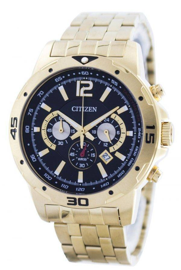 Citizen Quartz Chronograph AN8102-59E Montre Homme