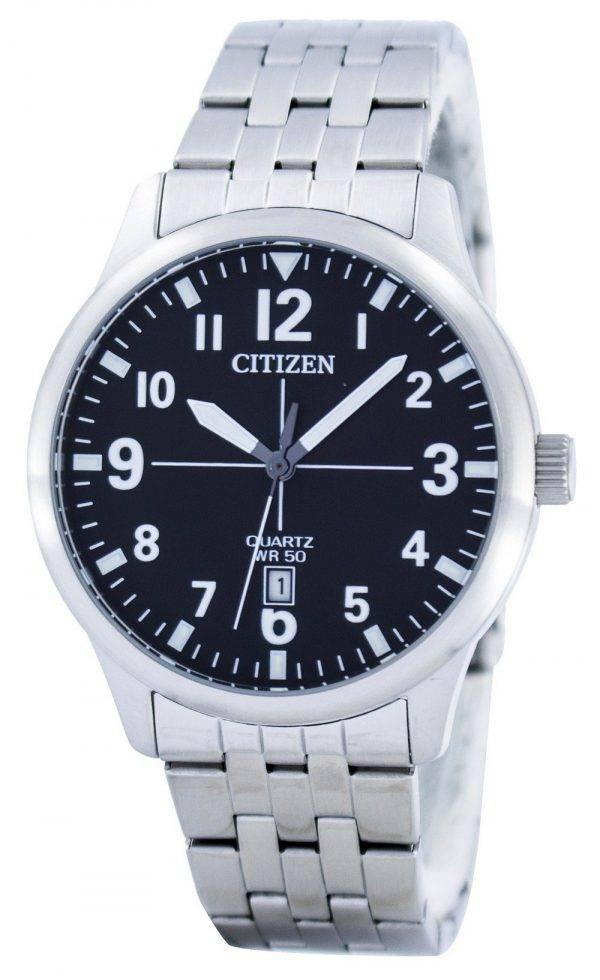Citizen quartz noir Dial BI1050-81F Montre Homme
