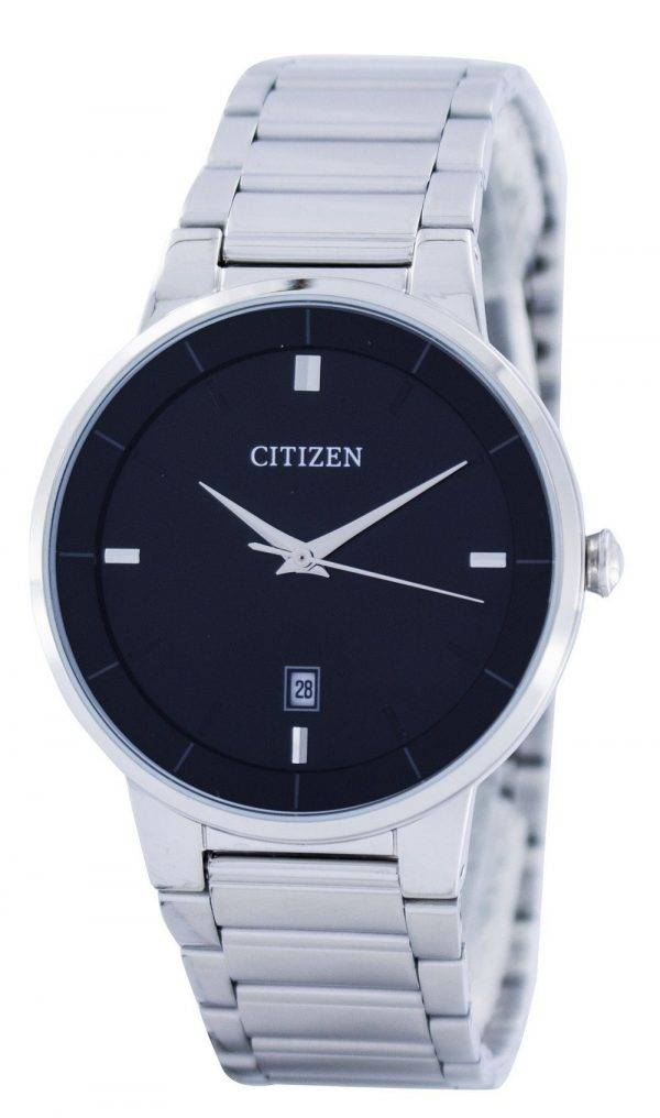 Citizen Quartz Black Dial BI5010-59E Montre Homme