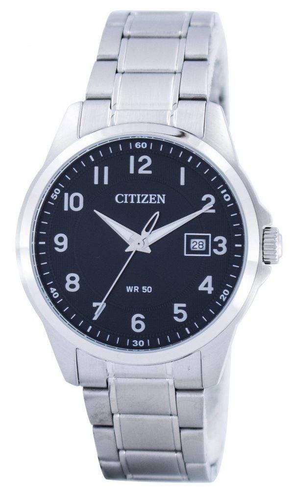 Citizen Quartz Black Dial BI5040-58E Montre Homme