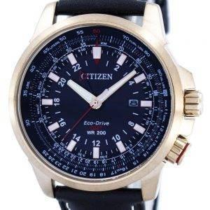 Citizen Promaster Eco-Drive GMT BJ7073-08E Montre Homme