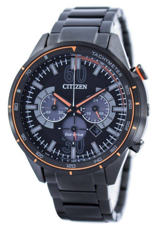 Citizen Eco-Drive Chronographe Tachymètre Echelle CA4125-56E Montre Homme