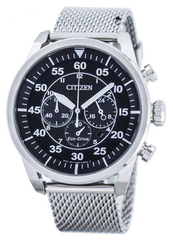 Citizen Eco-Drive Chronographe Power Reserve CA4210-59E Montre Homme