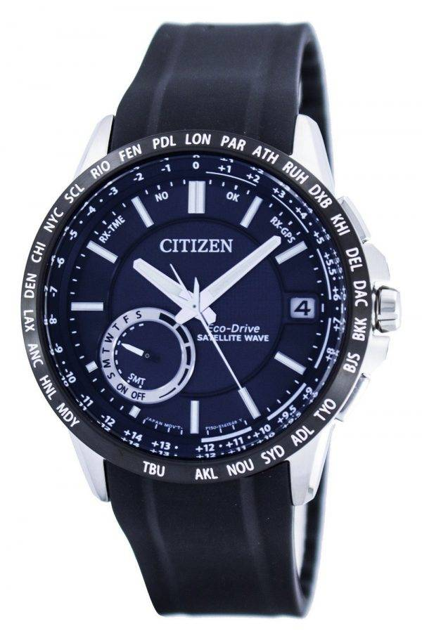 Citizen Eco-Drive satellite d'ondes GPS World Time Power Reserve CC3005-18E Montre pour homme