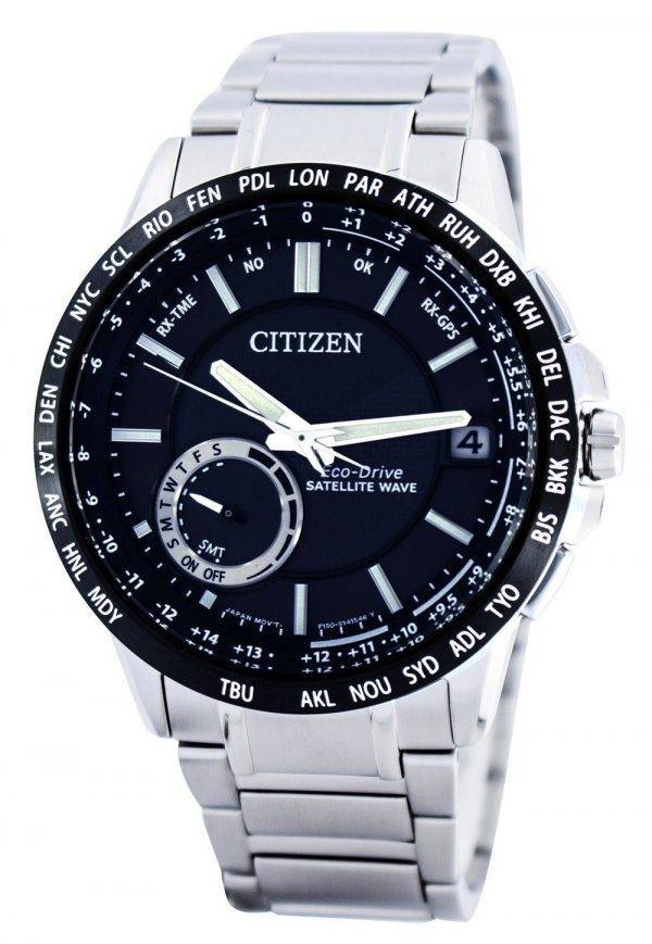 Citizen Eco-Drive satellite d'ondes GPS World Time Power Reserve CC3005-51E Montre pour homme