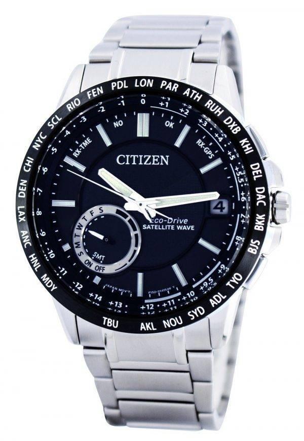 Citizen Eco-Drive satellite d'ondes GPS World Time Power Reserve CC3005-51E Montre pour homme