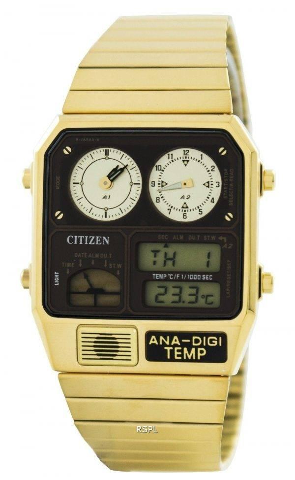 Montre Citizen Quartz Analogique-Numérique Dual Time JG2002-53W pour Homme