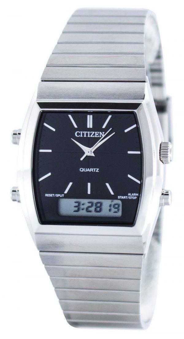 Citizen Quartz Alarme Chronographe Analogique Numérique JM0540-51E Montre Homme