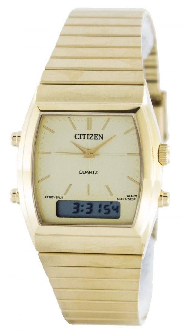 Citizen Quartz Alarm Chronograph Analogique numérique JM0542-56P Montre Homme