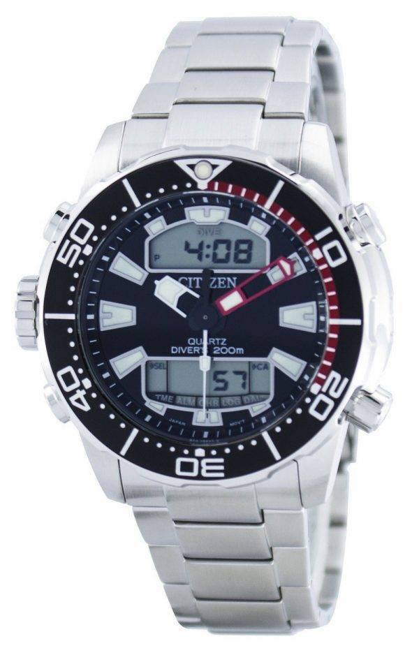 Citizen Aqualand Promaster Divers 200M Analogique Digital JP1090-86E Montre Homme