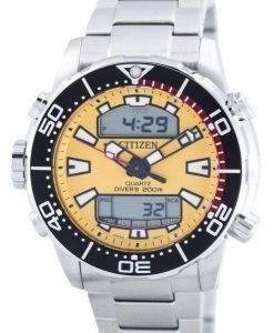 Citizen Aqualand Promaster Divers 200M Analogique Digital JP1090-86X Montre Homme