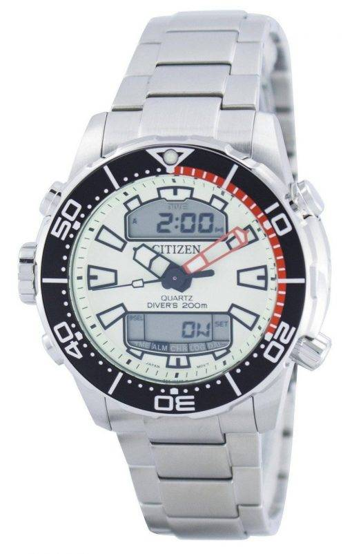 Citizen Aqualand Promaster Divers 200M Analogique Digital JP1091-83X Montre Homme