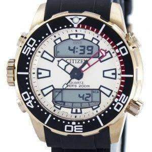 Citizen Aqualand Promaster Divers 200M Analogique Digital JP1093-11P Montre Homme