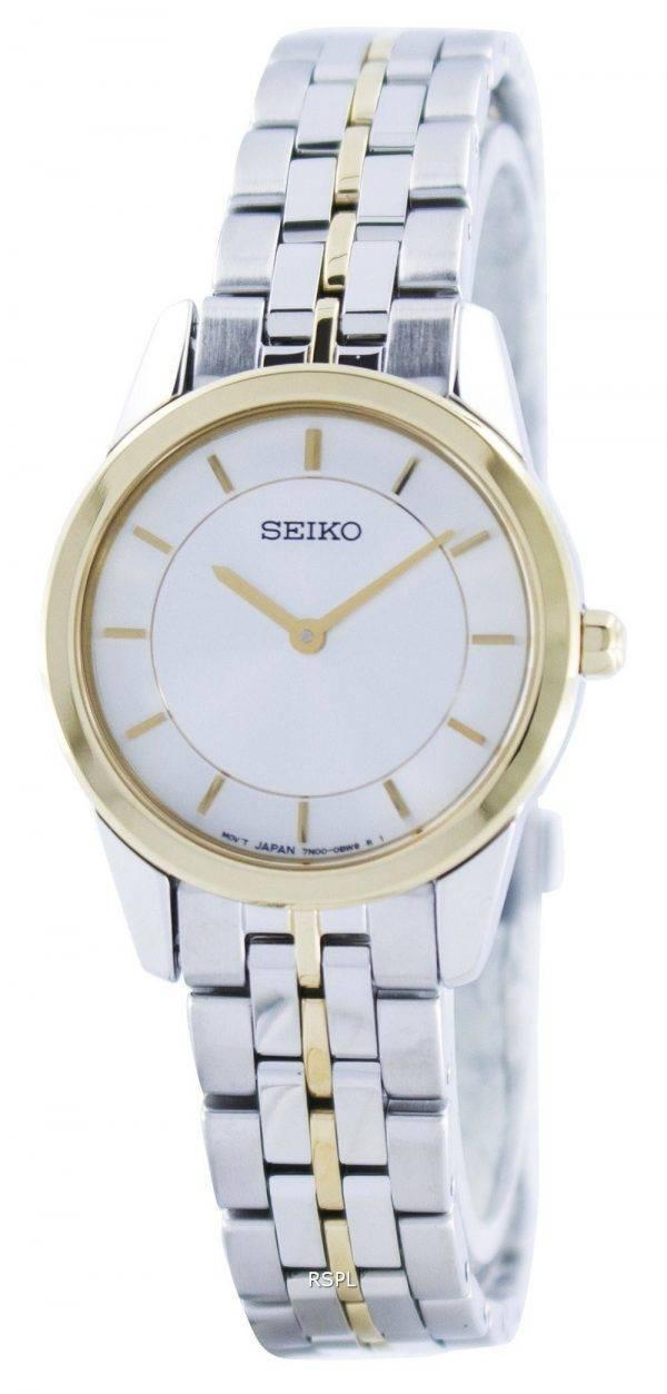 Seiko Quartz SFQ824 SFQ824P1 SFQ824P Montre Femme