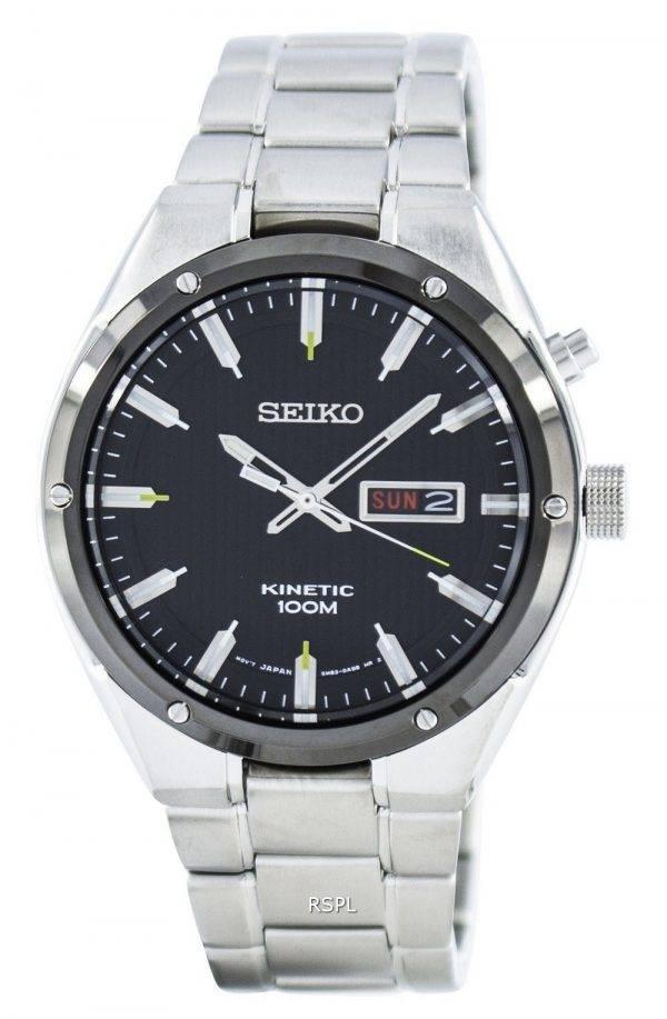Montre Seiko Kinetic 100M SMY151 SMY151P1 SMY151P hommes