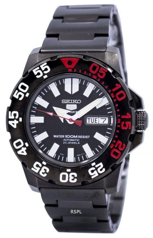Seiko 5 Sports Automatique Hommes NEO Monster Divers SNZF53 SNZF53K1 SNZF53K Montre Homme