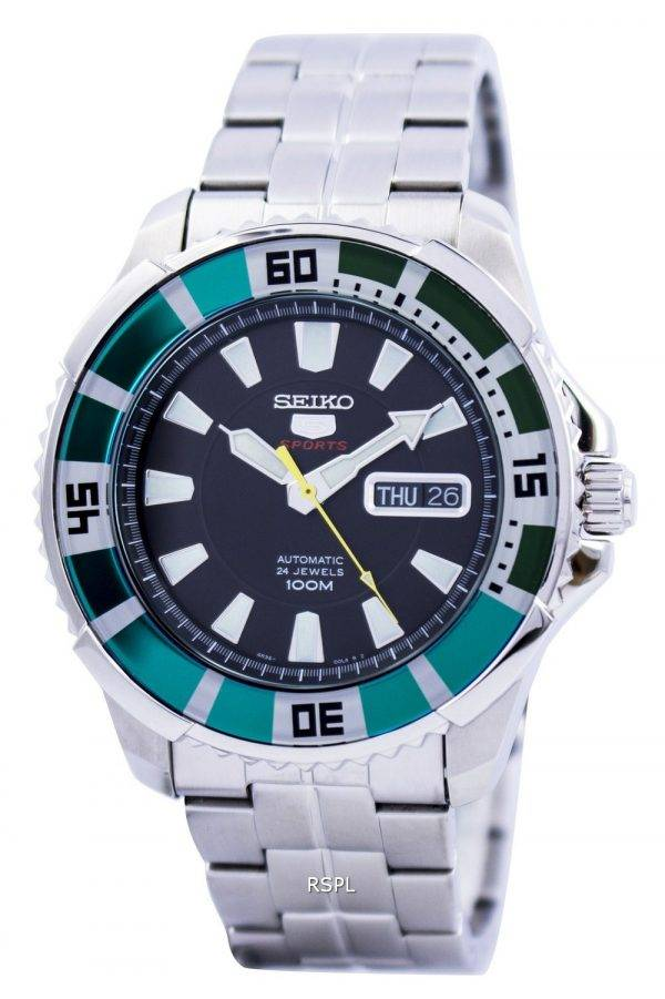 Seiko 5 Sports Automatique SRP205 SRP205K1 SRP205K Montre Homme