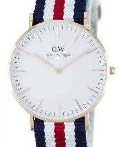 Daniel Wellington Classic Canterbury Quartz DW00100030 (0502DW) Montre Femme