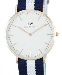 Daniel Wellington Classic Glasgow Quartz DW00100031 (0503DW) Montre Femme