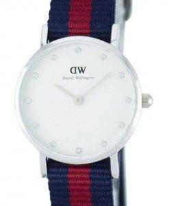 Daniel Wellington Classy Oxford Quartz Crystal Accent DW00100072 (0925DW) Montre Femme