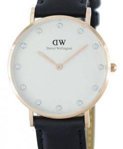 Daniel Wellington Classique Sheffield Quartz Crystal Accent DW00100076 (0951DW) Montre Femme
