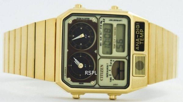 Citizen Quartz Analogique-numérique Dual Time JG2002-53P Montre Homme