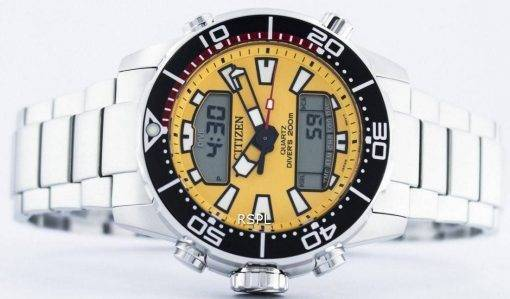 Citizen Aqualand Promaster Divers 200M Analogique Digital JP1090-86X Montre Homme