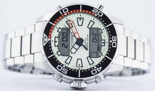 Citizen Aqualand Promaster Divers 200M Analogique Digital JP1091-83X Montre Homme