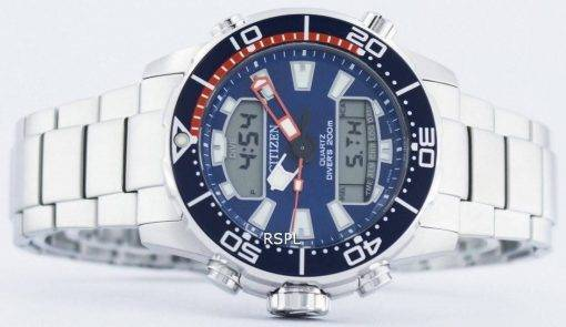 Citizen Aqualand Promaster Divers 200M Analogique Digital JP1099-81L Montre Homme